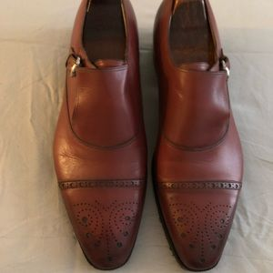 Authentic Gucci 'Boss' Monk Strap Loafer